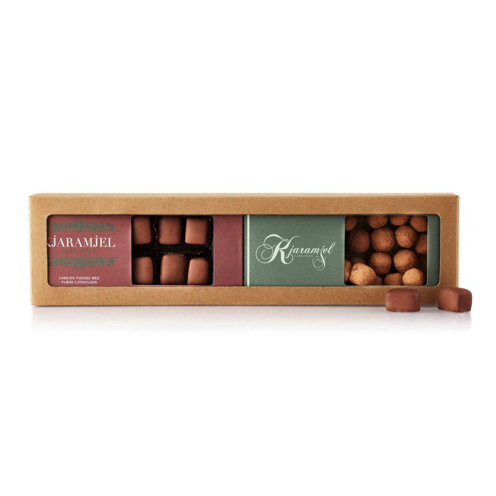 Gaveæske Lakridsfudge/Chokolade - lakridseriet
